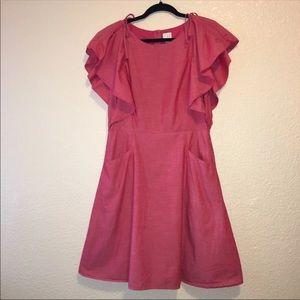 146- Strawberry red Dress size medium
